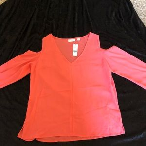 Coral New York And Company blouse set